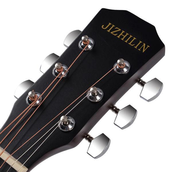 吉他-吉之琳38寸民謠木吉他 初學者吉它學生新手練習入門男女通用 限時鉅惠八九折下殺