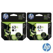 HP F6U63AA&F6U64AA NO.63XL原廠大印量黑彩色墨水匣組 適用DJ3630/2180/2130/1110/ENVY4520/OJ3830/4650(原廠品)