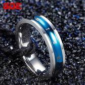 日正韓學生時尚?鋼男士戒指個性潮羅馬數字單身食指環飾品
