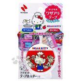〔小禮堂〕Hello Kitty 日製食物保存膠帶《紅》貼布.密封膠帶 4987167-09096