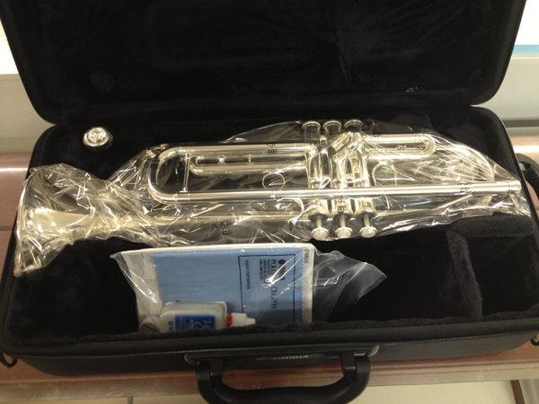 【金聲樂器】YAMAHA YTR-4335 GS II / YTR-4335GS II 鍍銀 小號 (小喇叭) 一年保固 終生維修
