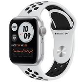 Apple Watch SE Nike GPS版-鋁金屬殼搭配運動型錶帶【44m】【愛買】