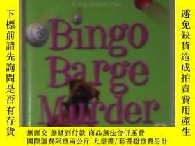 二手書博民逛書店英文原版罕見Bingo Barge Murder [Paperb