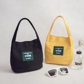 水桶包2020新款女包韓版帆布小包包簡約迷你手提包百搭休閒手拎包(免運快出)