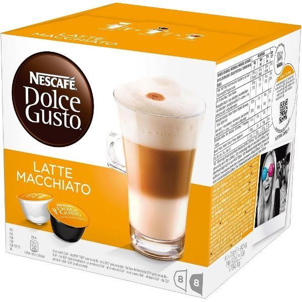 雀巢 拿鐵咖啡膠囊(Latte Macchiato) 16顆/盒 (促銷活動滿6盒折價90元)