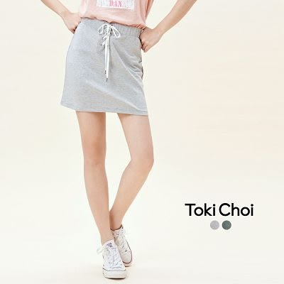 東京著衣-腰部造型A字短裙-XS.S.M(6017167)
