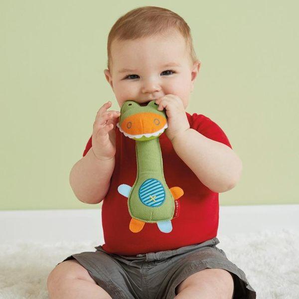◎愛寶貝◎A124511美單寶寶嬰兒布絨立體手搖鈴