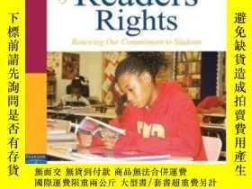 二手書博民逛書店A罕見Declaration Of Readers Rights: Renewing Our Commitmen
