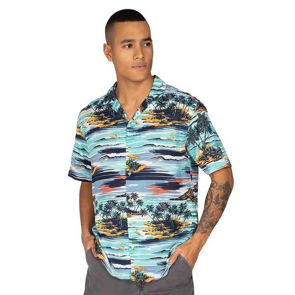 PROTEST 男 短袖襯衫 (海洋微風) CONFESSION SHIRT SHORT SLEEVE