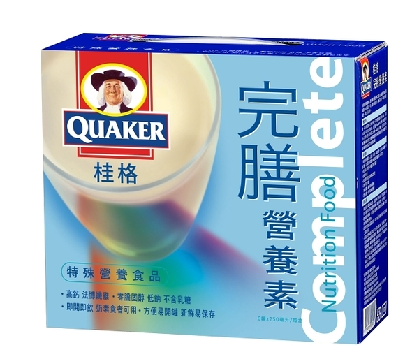 桂格香草完膳營養素禮盒250ml*6入
