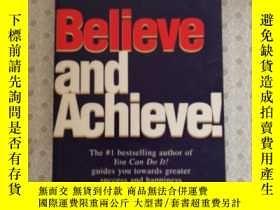 二手書博民逛書店Believe罕見and AchieveY281995 Paul