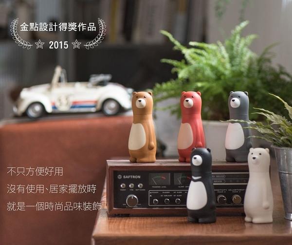 [好也戶外]Invni發明家生活 Bear Papa棘輪螺絲起子(6入組) 台灣黑熊款