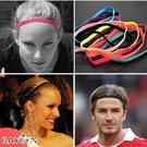 運動髮帶 頭戴 束髮帶 健身 跑步 足球防滑頭帶 瑜伽彈力髮帶 髮圈