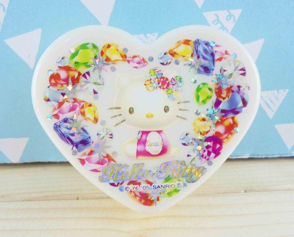 【震撼精品百貨】Hello Kitty 凱蒂貓~KITTY心形飾品盒-寶石圖案M