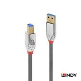 LINDY 36661 CROMO LINE USB3.0 TYPE-A/公 TO TYPE-B/公 傳輸線 1M