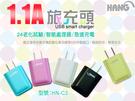 『HANG C3』5V/1.1A 電源供應器/馬卡龍/輕巧易攜/充電器旅充頭/充電頭/插頭/插座/豆腐頭/商檢認證