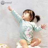 Minerva米諾娃 | 【冰雪奇緣系列】長袖包屁衣-冰雪印花
