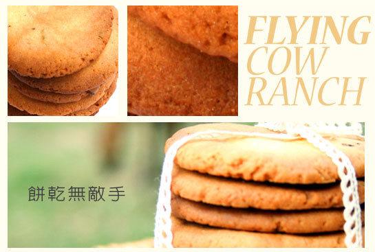 【飛牛牧場.牛奶生活館.手工餅乾】天成味道健康滋味(蛋奶素)