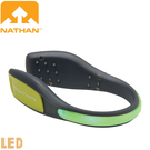 【NATHAN 美國 防水LED鞋環 綠】NA5072NB/亮燈閃爍/LED/安全閃燈/警示燈/健行/夜騎/自行車