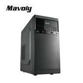Mavoly 松聖 枇杷 mATX 黑化機殼 黑 USB3.0 0805BB