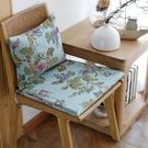 [超豐國際]清新田園碎花布藝創意 餐椅墊 坐墊海綿墊凳子墊可1入