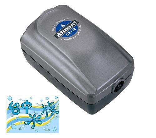 ATMAN 單孔強力打氣馬達CR-10 +氣泡石 特價