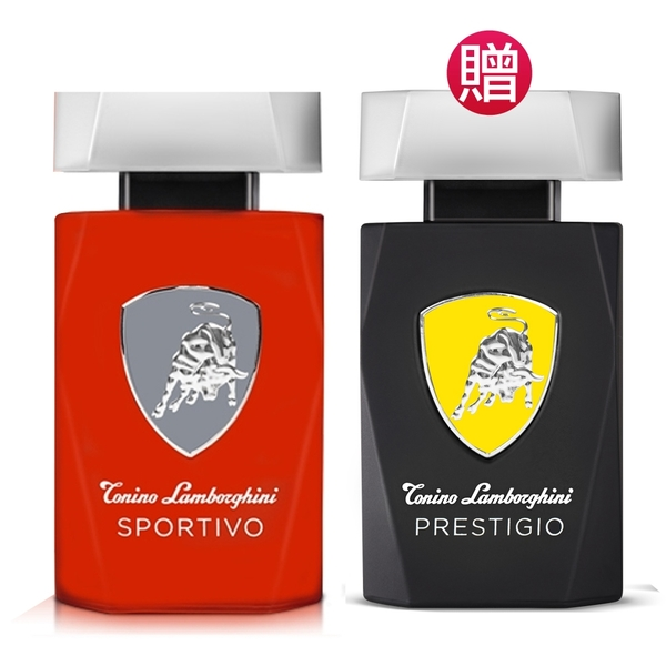 Tonino Lamborghini 紅牛能量男性淡香水75ml(贈)權威能量男性淡香水75ml Vivo薇朵