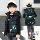 兒童馬甲 秋冬兒童羽絨棉馬甲男童外穿坎肩小孩中大童背心寶寶童裝加厚馬甲 3色100-170 雙12提前購