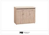 【MK億騰傢俱】BS292-02北原橡木色4尺餐櫃下座(含石面)