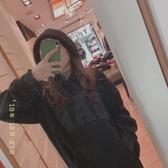 【蟹老闆】GAP 泰迪熊毛毛 帽T黑