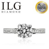 【ILG鑽】Thaler 心之所向 0.75克拉戒指-頂級美國ILG鑽飾,媲美真鑽亮度的鑽飾 RiP29