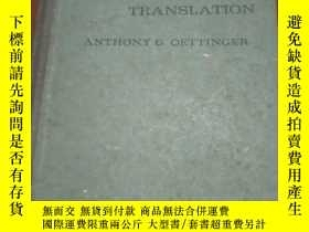 二手書博民逛書店AUTOMATIC罕見LANGUAGE TRANSLATION(