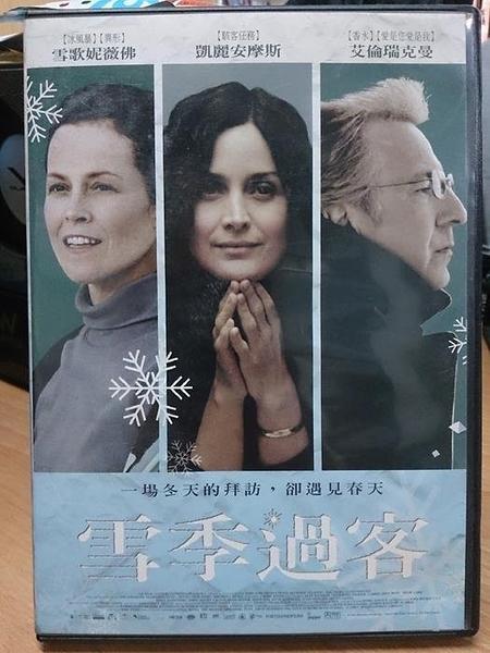 挖寶二手片-Y112-133-正版DVD-電影【雪季過客】-雪歌妮薇佛 凱麗安摩斯 艾倫瑞克曼(直購價)