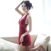 情調衣人大碼性感睡衣女夏火辣情趣內衣短裙成人露背蕾絲吊帶睡裙