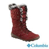Columbia 女 防水保暖雪鞋-紅色 【GO WILD】