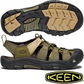 KEEN 1018941橄欖綠 Newport Hydro男戶外護趾涼鞋 水陸兩用溯溪鞋/運動健走鞋/沙灘戲水拖鞋