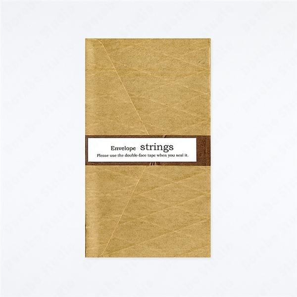 ENVELOPE/strings 立體紋樣信封【Yamamoto Paper】