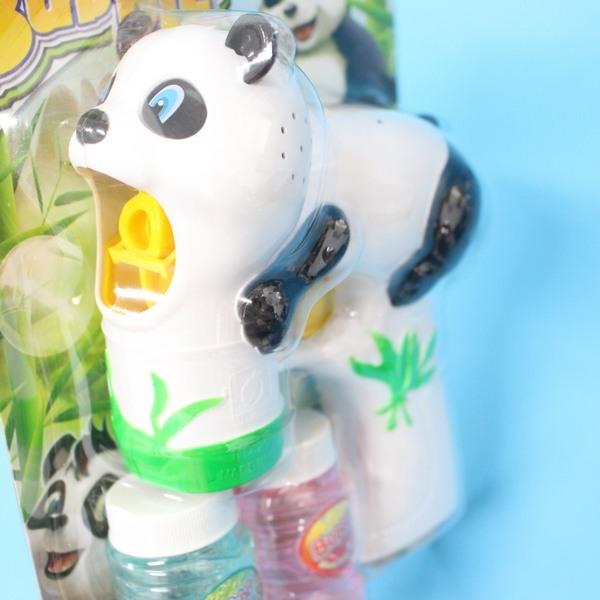 大熊貓泡泡槍 自動泡泡槍+泡泡水(附電池)/一支入{促199} ~CF111903~出清商品~