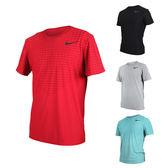 NIKE 男短袖針織衫(T恤 短T 慢跑 路跑