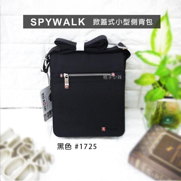 側肩包 SPYWALK 側背包 #1725 掀蓋式 斜背包 日系 男包 商務包 桔子小妹