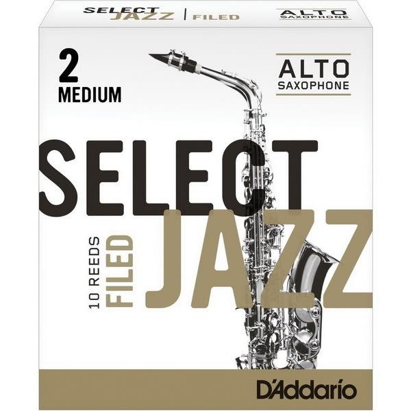 【金聲樂器】美國RICO Select Jazz Alto Sax中音薩克斯風 2號 竹片 MEDIUM 2M