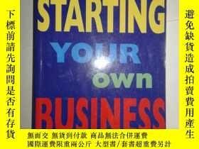 二手書博民逛書店STARTING罕見YOUR OWN BUSINESS 【644】Y10970 MICHAEL BECKET