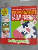 【書寶二手書T3/少年童書_JAB】Hello Genius Favorite Farm Friends!_Dahl,