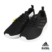 Adidas 新竹皇家 Lite Racer 黑色 網布 輕量 休閒鞋 男款 No.B0209