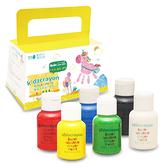 kidzcrayon 幼兒手指膏 6色 可水洗手指畫顏料 台灣製 無毒手指顏料 兒童彩繪顏料 7210 媽媽友
