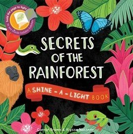 【麥克書店】SECRETS OF RAINFOREST ※部落客推薦品: 發光書之熱帶雨林※