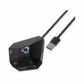 滑鼠 鍵盤轉換器 適用PS4, PS3, Xbox One, Xbox 360, Nintendo Switch Lite [2美國直購]