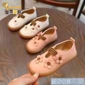 水晶鞋公主鞋 快速出貨春秋新款韓版女童鞋公主鞋兒童鞋皮鞋豆豆鞋單鞋女童鞋寶寶鞋