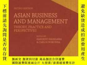 二手書博民逛書店Asian罕見Business And Management: Theory Practice And Persp