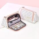 帆布筆袋可愛日系多功能文具盒筆盒【聚寶屋】